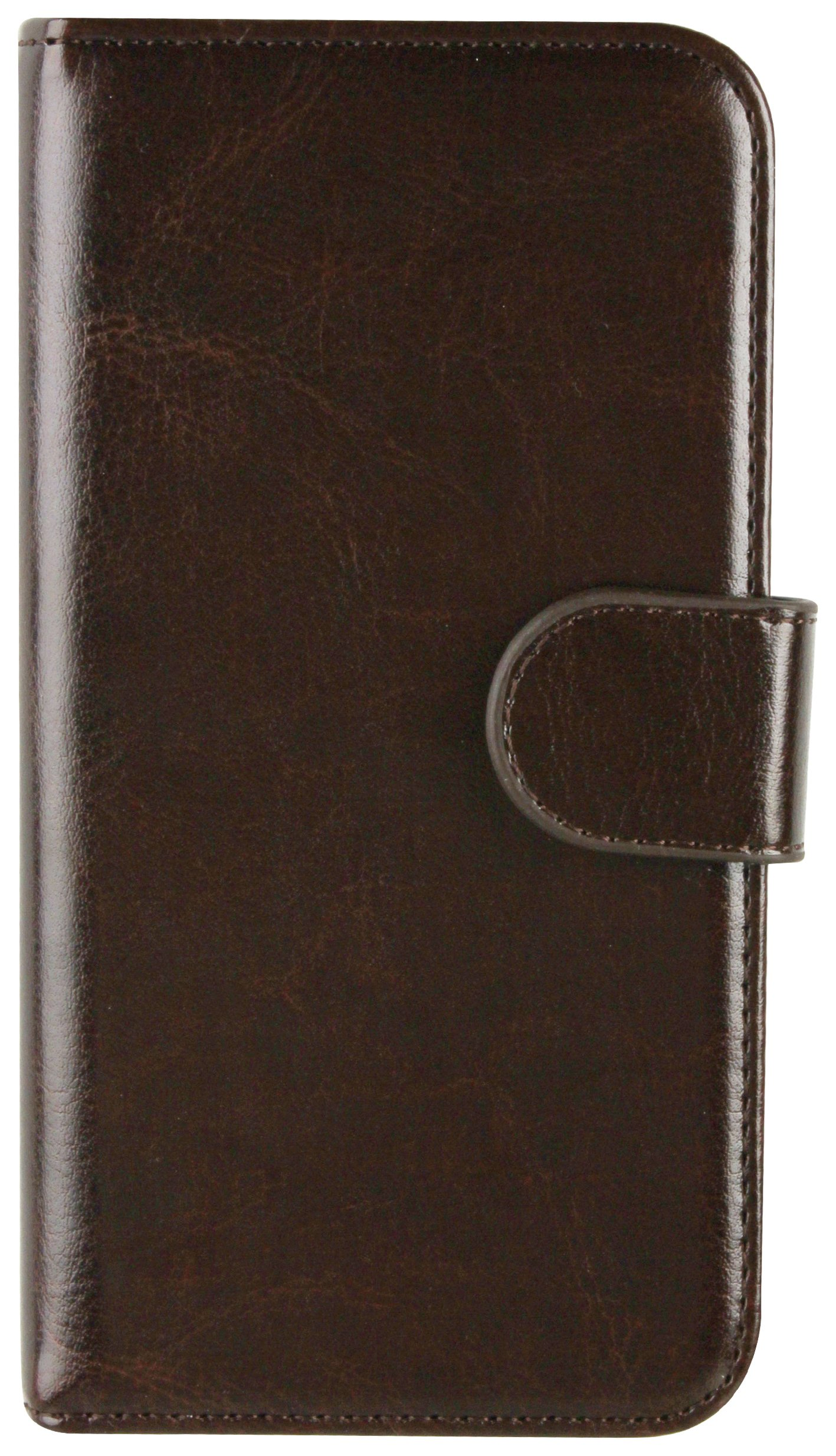 Xqisit Xqisit Wallet Case Eman for Samsung Galaxy S6 - Brown