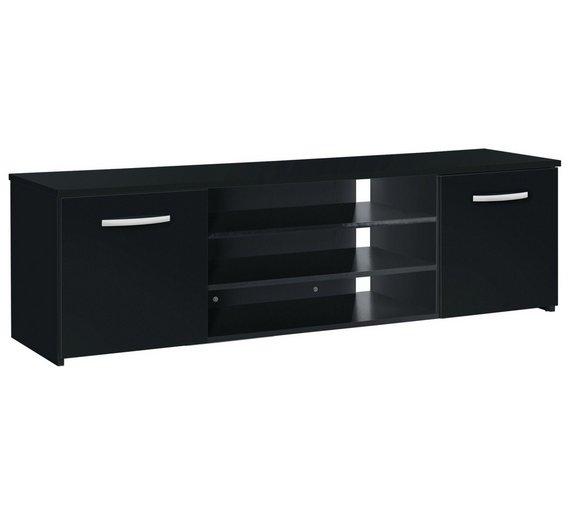 Buy Hygena Hayward 150cm 2 Door Wide Tv Unit Black At