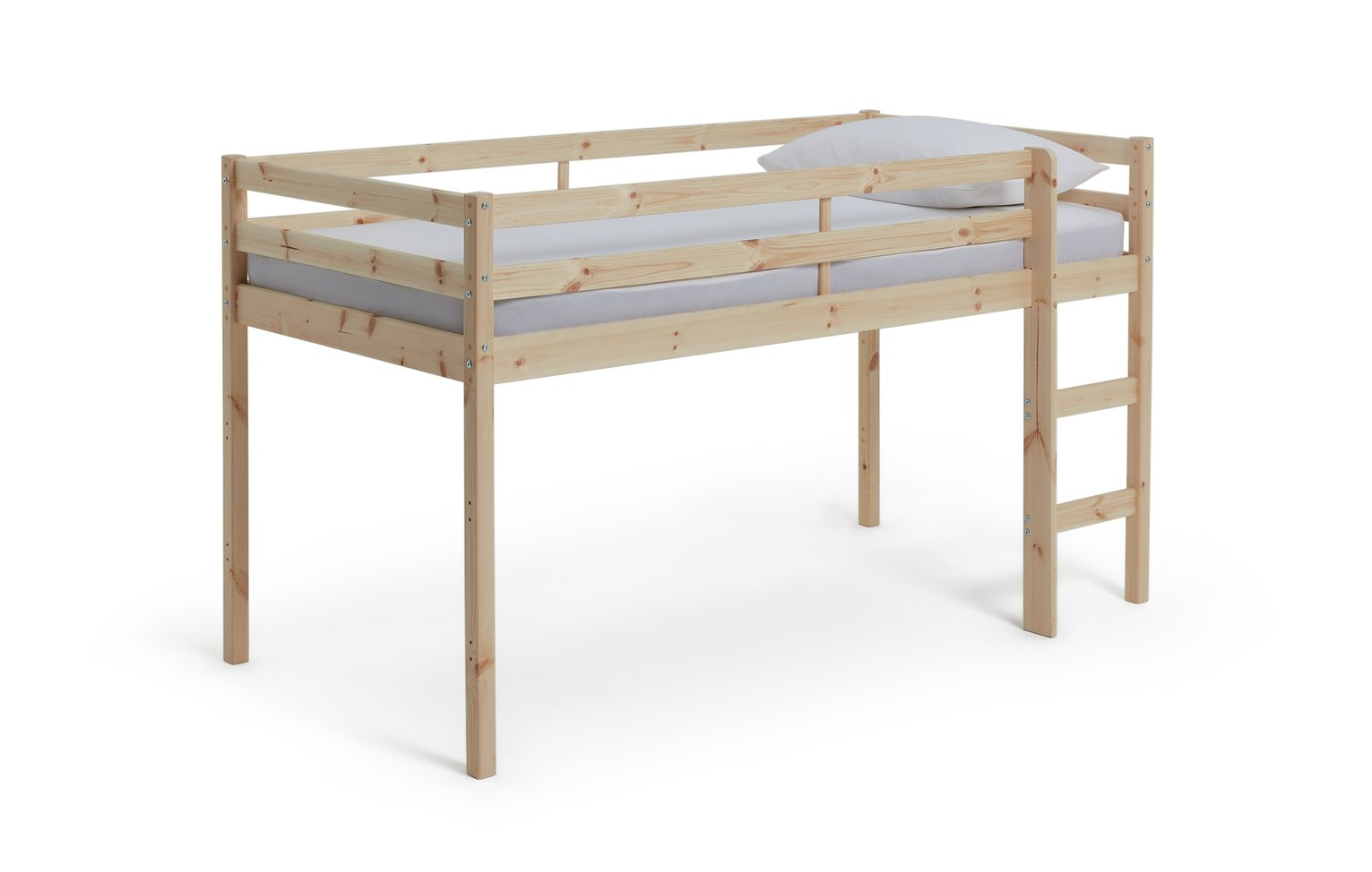 Argos Home Kaycie Pine Mid Sleeper Single Bed Frame