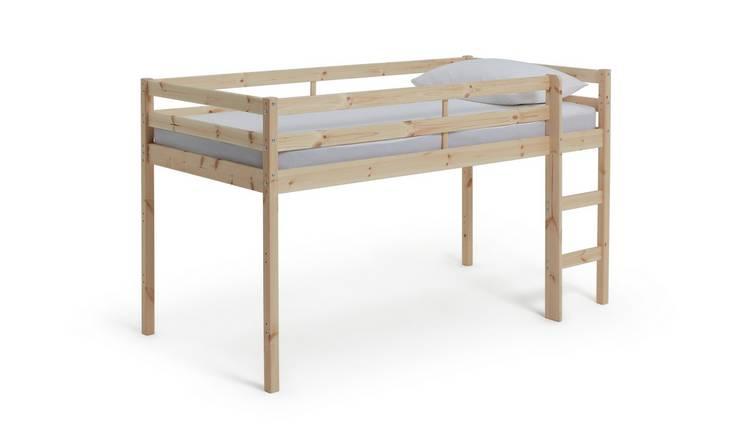 official photos 561c6 9da57 Buy Argos Home Kaycie Pine Mid Sleeper Single Bed Frame | Kids beds | Argos