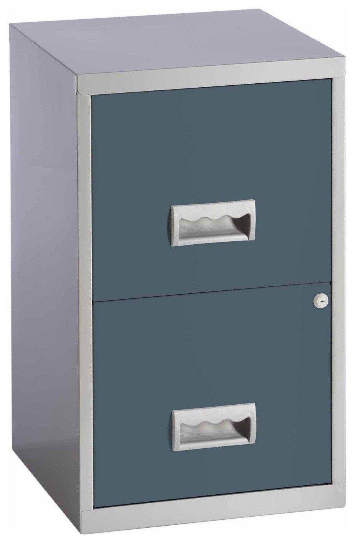 Pierre Henry - 2 Drawer Filing Cabinet - Urban Grey
