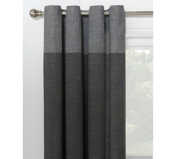 blue cotton gray and ombre curtains country p for living room polyester patterned