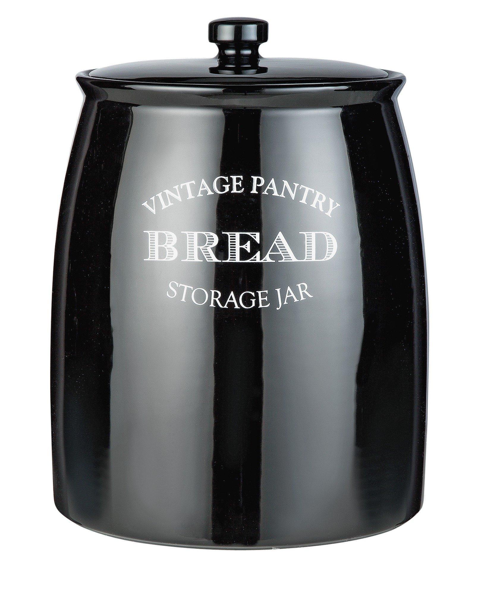 Black Kitchen Accessories Argos: Eve Traditional Ceramic Bread Bin