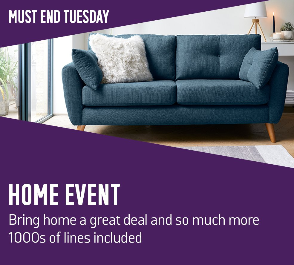 Home Event. Bring home a great deal and so much more. 1000s of lines included.