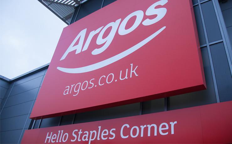An Argos store.