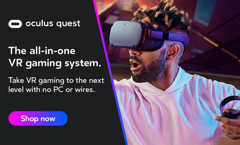 Oculus Quest. The all-in-one VR gaming system. Take VR gaming to the next level with no PC or wires.