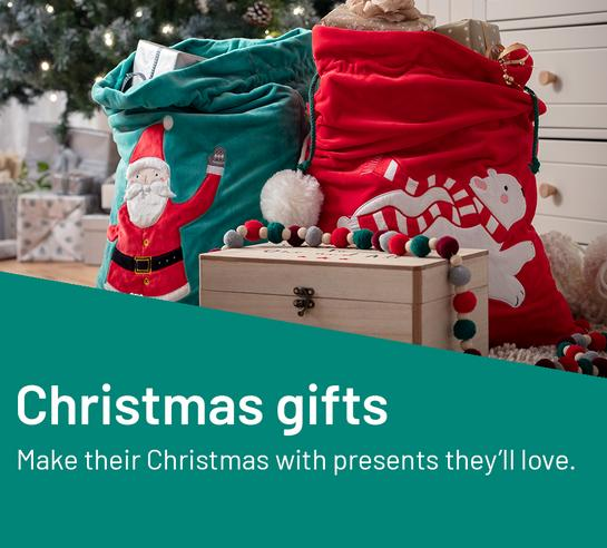 Make their Christmas with presents they'll love.
