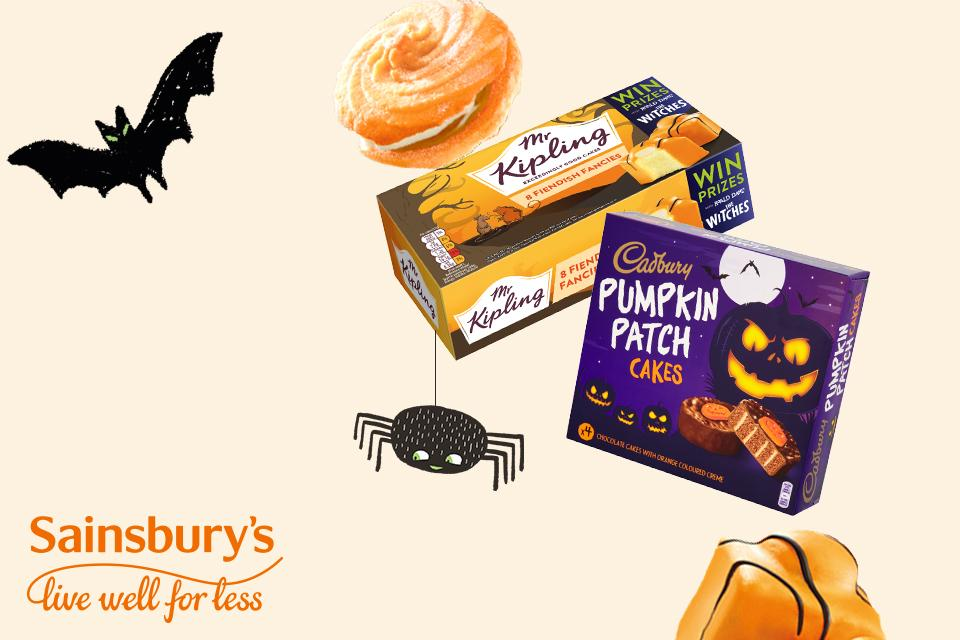 Celebrate Halloween with Sainsbury's.