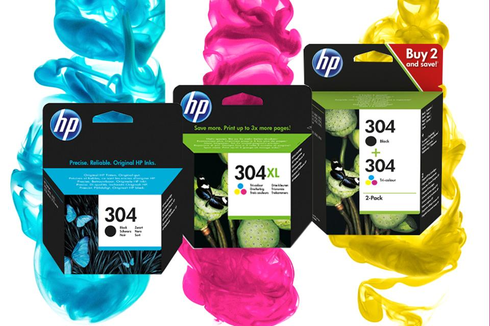 HP Original Ink variety.
