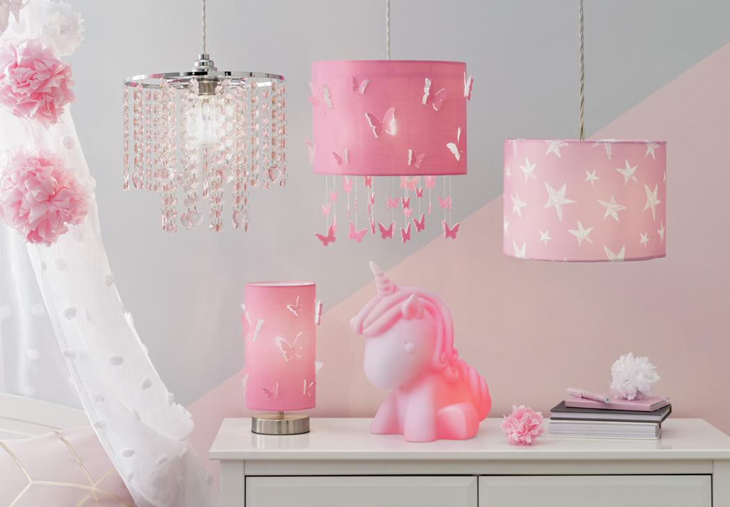 Argos Home Butterfly Cutout Shade - Pink.