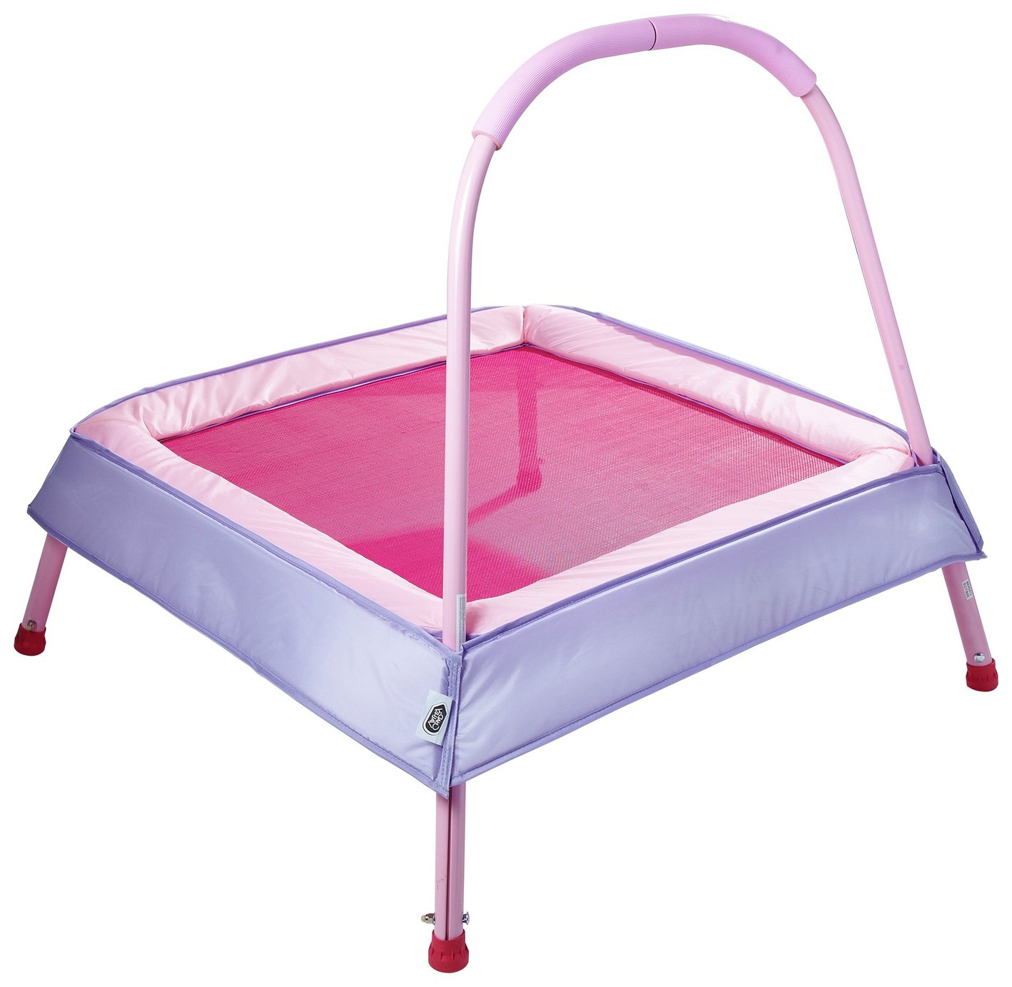 Chad Valley Kid's 2ft Indoor Trampoline - Pink