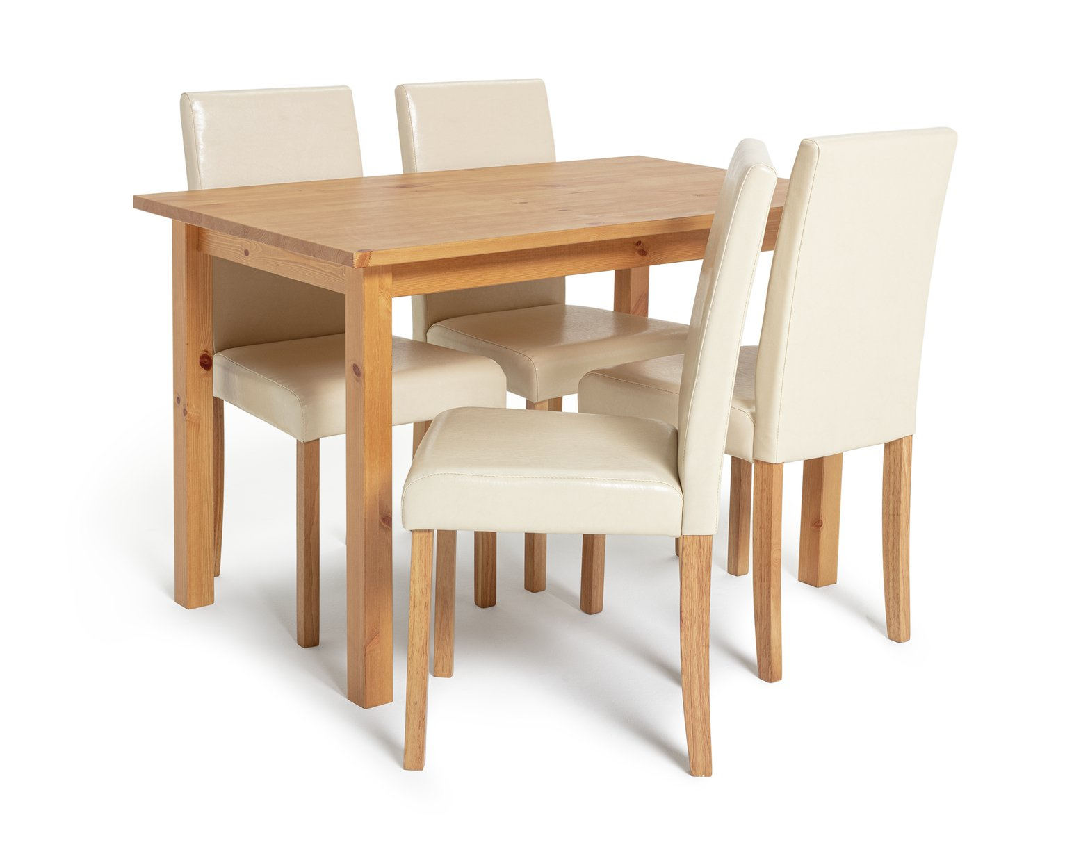 Buy HOME Ashdon Solid Wood Table amp 4 Mid Back Chairs  : 4122063RZ001AWebampw570amph513 from www.argos.co.uk size 570 x 513 jpeg 21kB