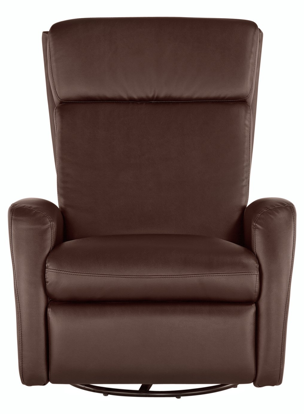 Argos Home Rock-R-Round Recliner Chair - Chocolate