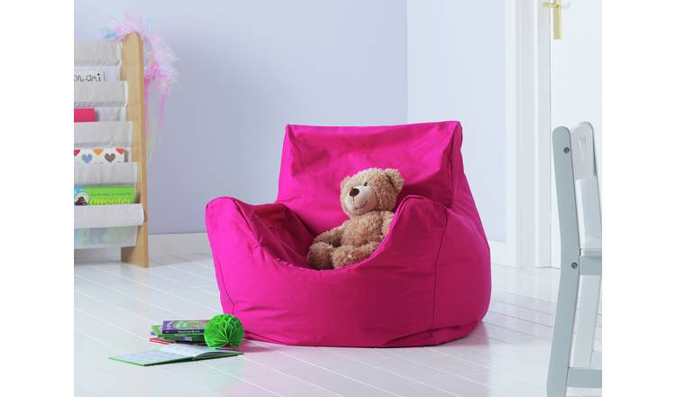 Argos Home Kids Funzee Pink Bean Bag Chair
