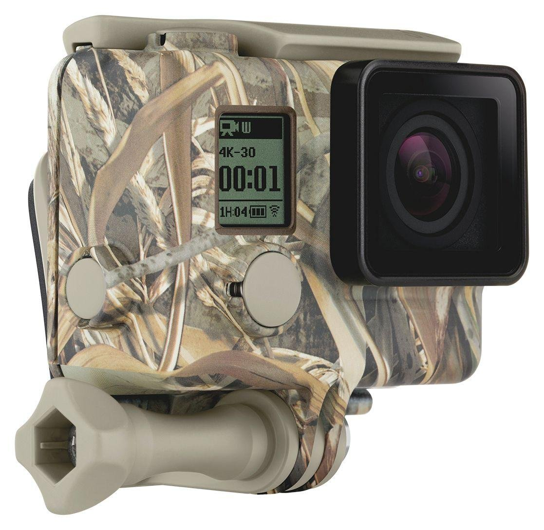 Image of GoPro Camo Housing and Quickclip - Woodland.
