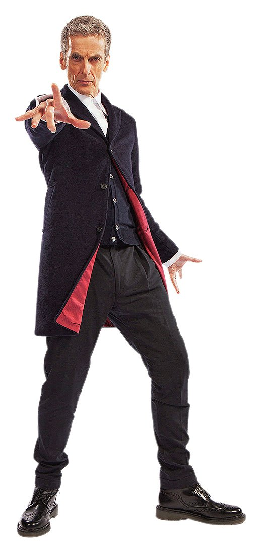 Image of Doctor Who Cardboard Cut-Out.