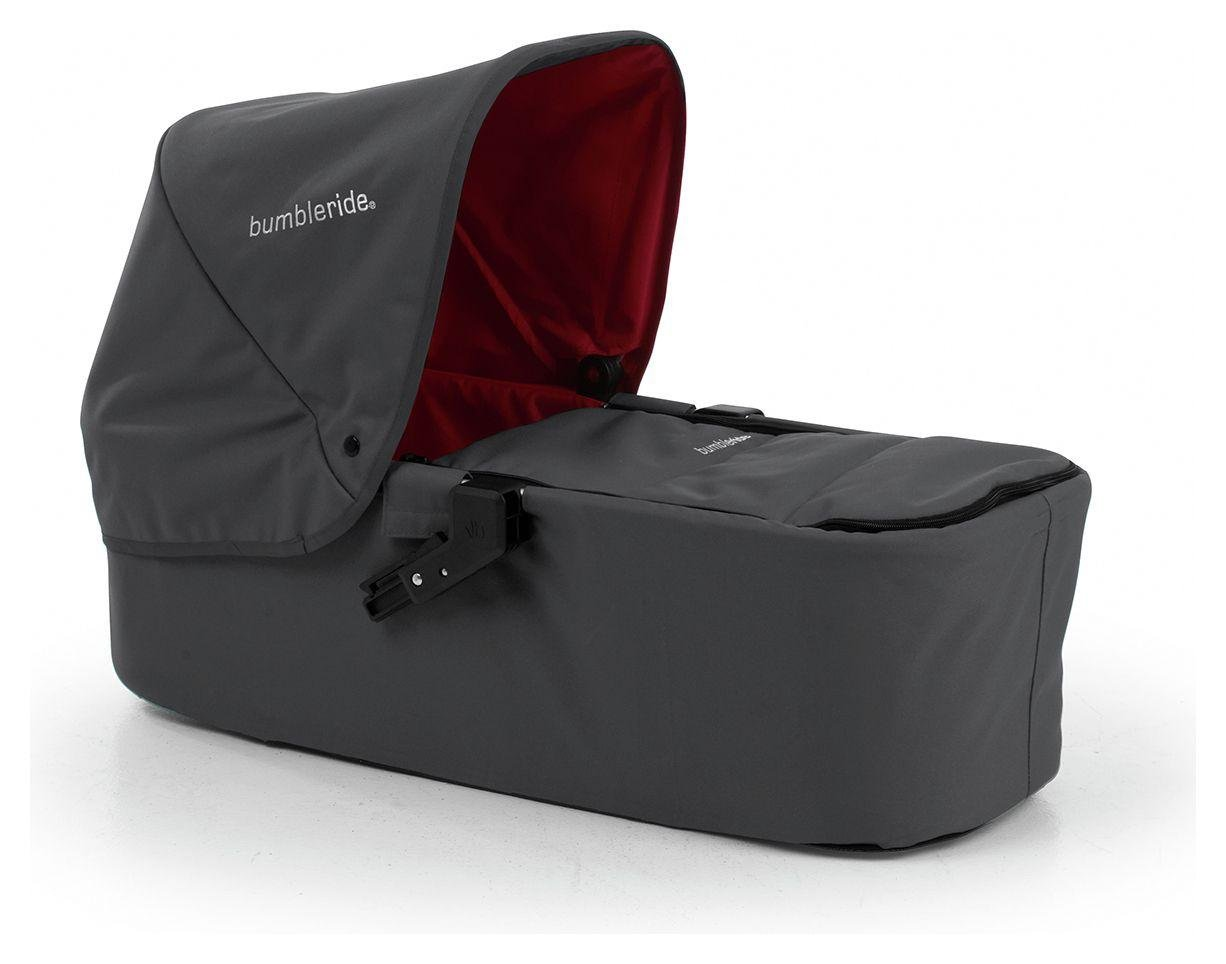 Image of Bumbleride Indie Carrycot - Fog Grey - Compatible with Indie Twin