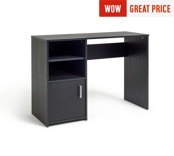 Buy lawson office desk black at your online shop for desks and workstations Argos home office furniture uk