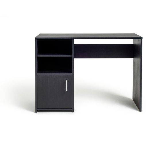 Buy Lawson Office Desk Black at Argoscouk Your Online Shop