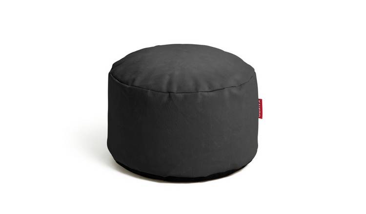 Argos Home Faux Leather Footstool - Chocolate
