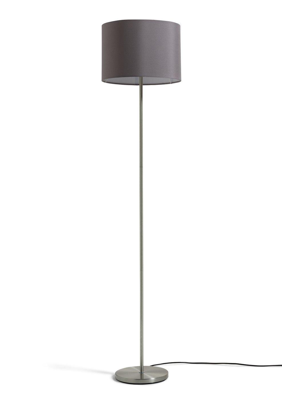 Argos Home Satin Stick Floor Lamp - Flint Grey