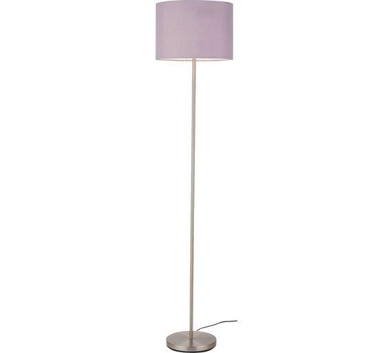 Buy colourmatch satin stick floor lamp flint grey floor lamps colourmatch satin stick floor lamp flint grey aloadofball Choice Image
