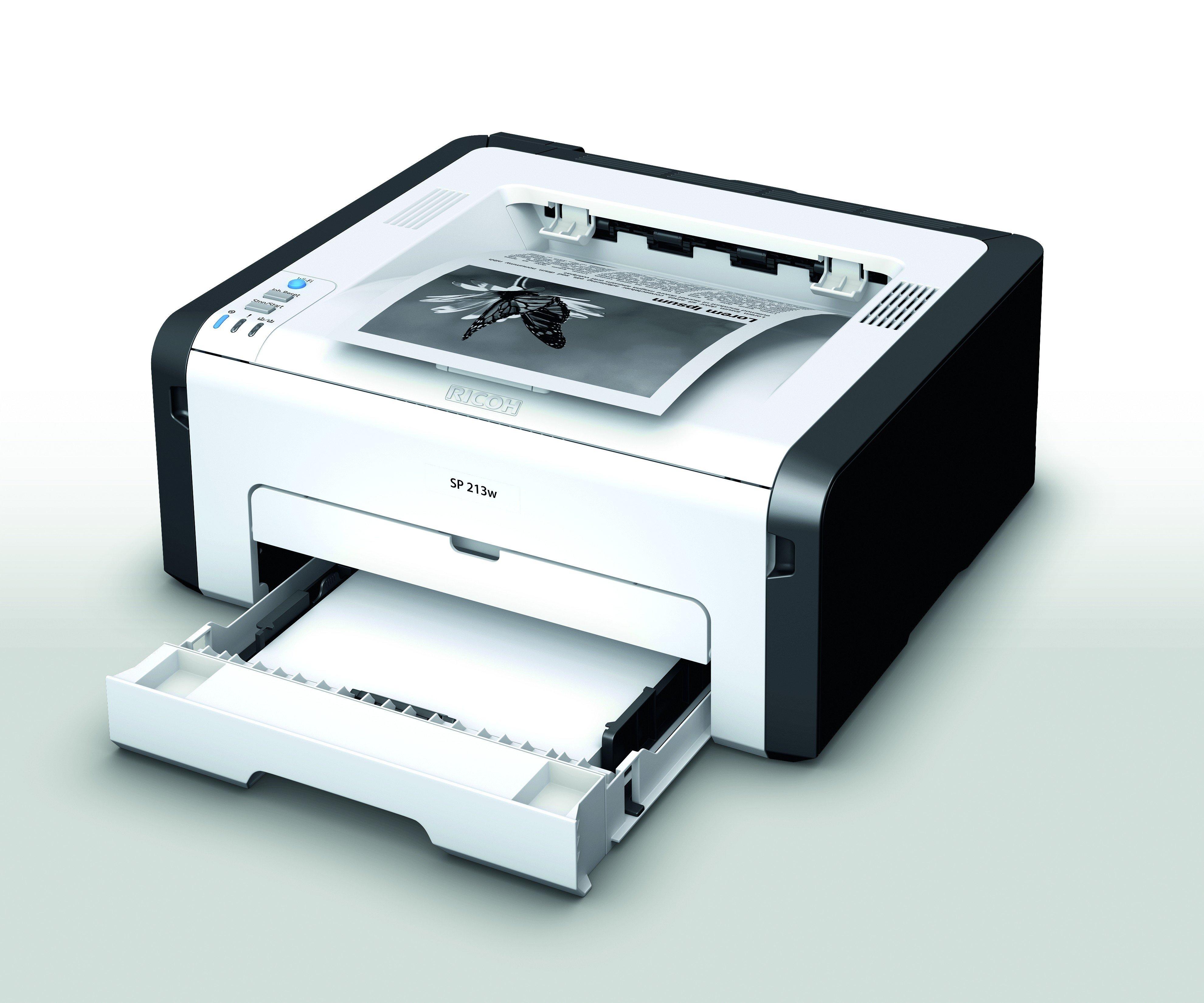 Ricoh Ricoh - SP213W 22PPM A4 Mono Laser Printer