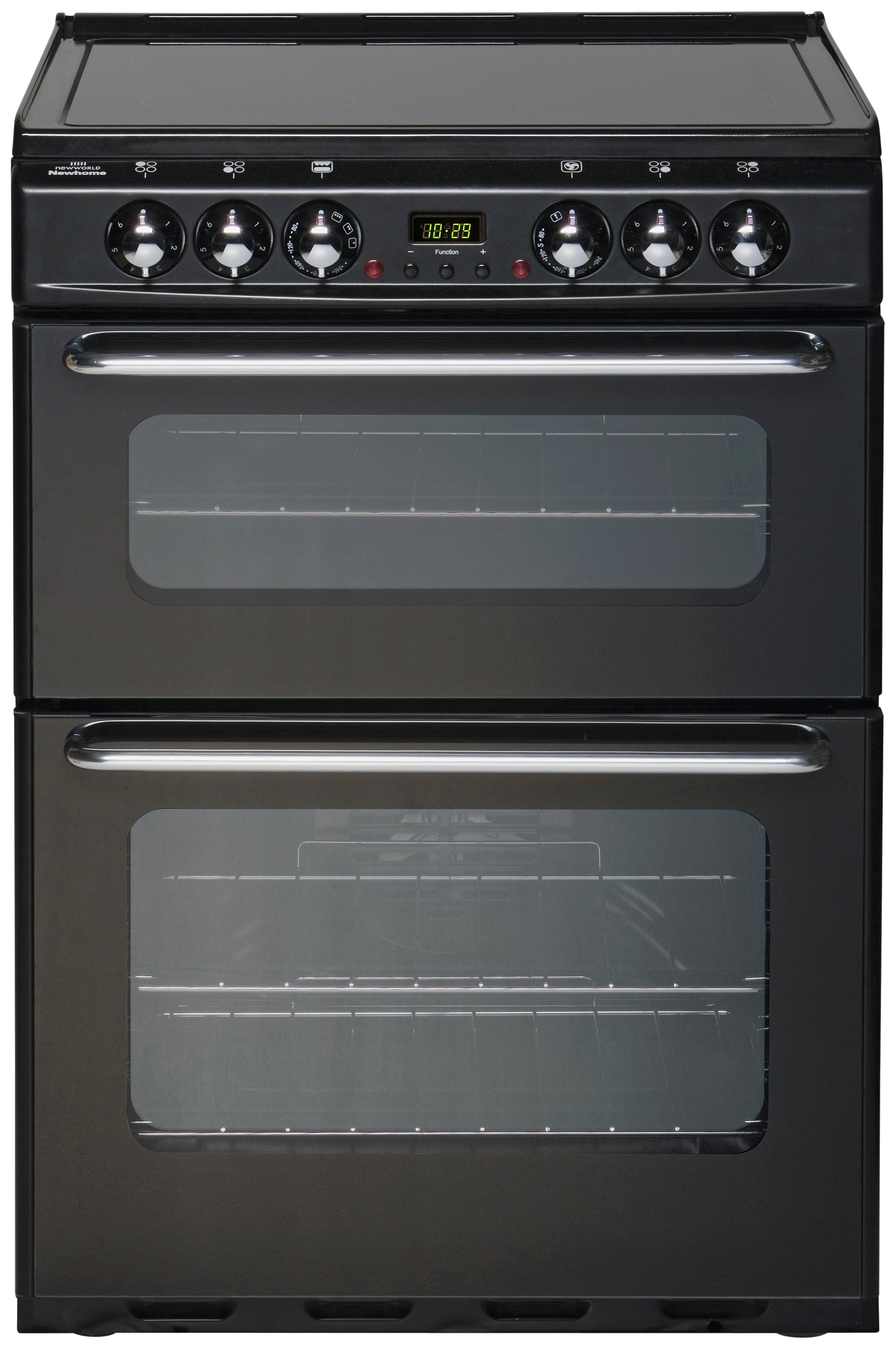 New World - EC600DOm Double Electric Cooker - Black