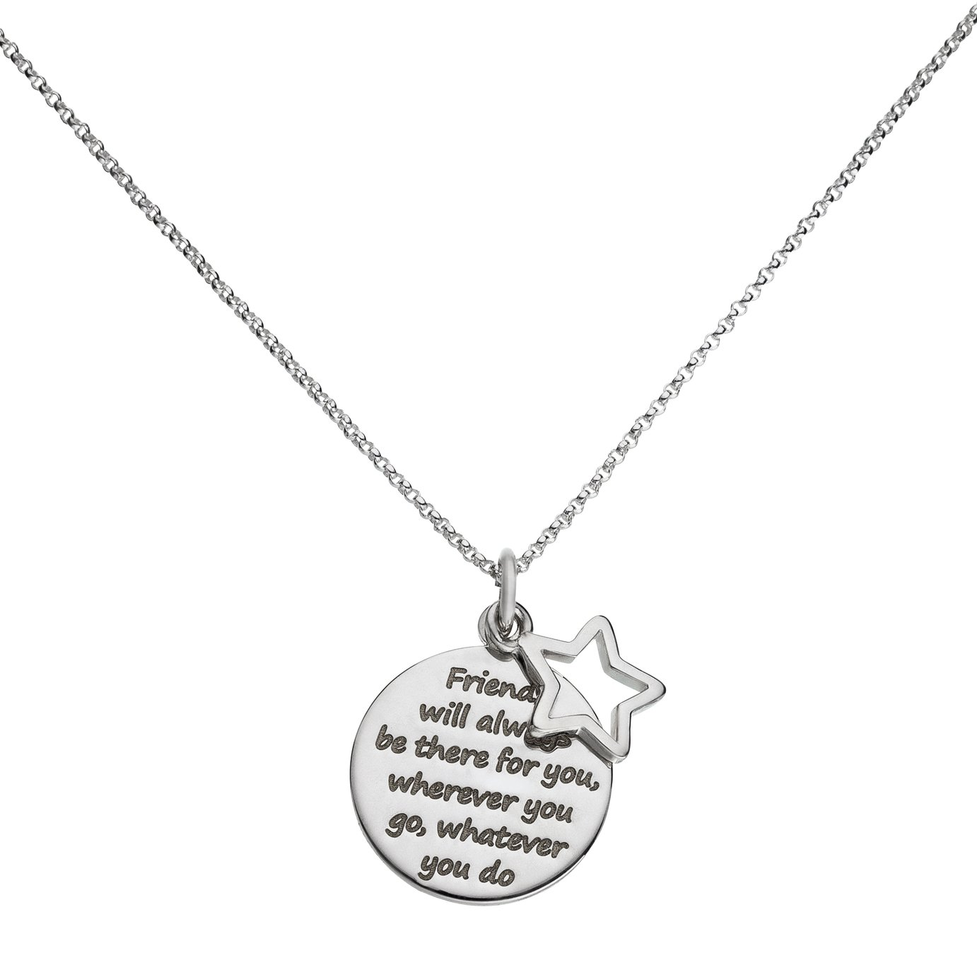 Image of From the Heart - Sterling Silver - Friendship Pendant.