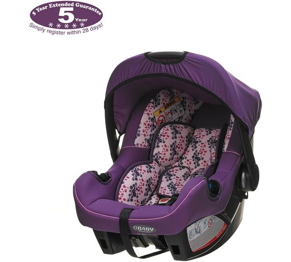 Buy Obaby Group 0 Plus Car Seat - Little Cutie | Car seats | Argos
