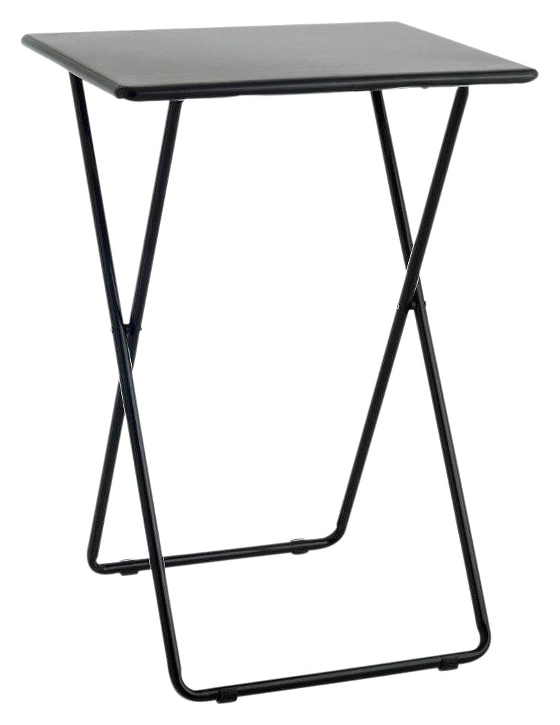 Superieur Buy Habitat Airo Metal Folding Table   Black | Side Tables | Argos