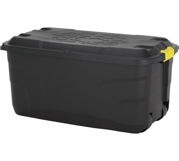 Buy Argos Home 145 Litre Heavy Duty Storage Trunk On Wheels