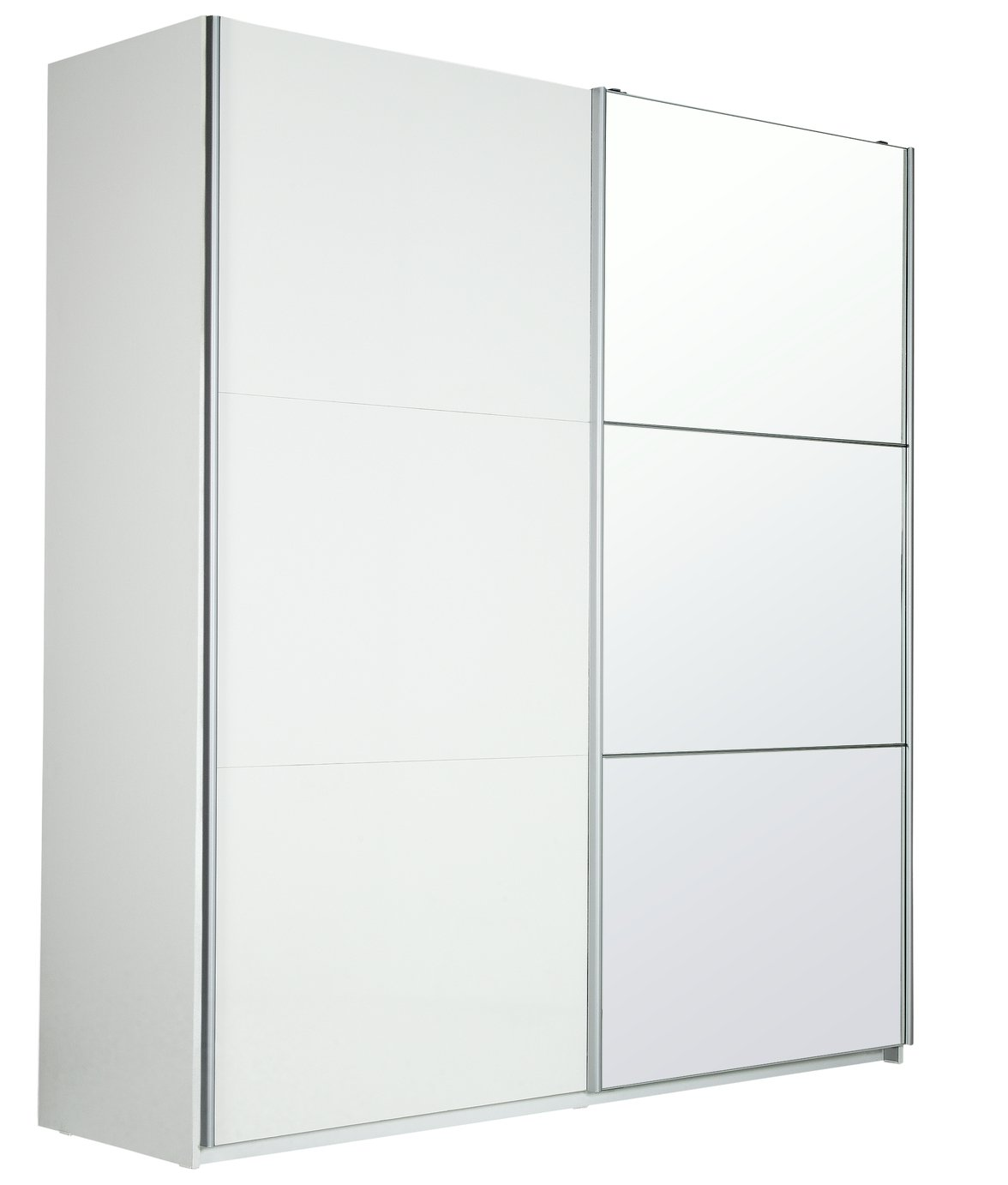 Sale On Hygena Bergen Large 2 Door Sliding Wardrobe