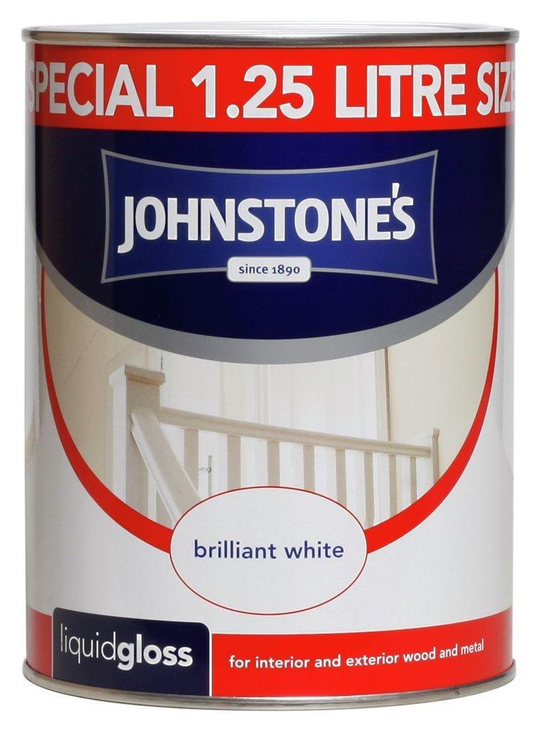 Johnstone's White Liquid Gloss 1.25L