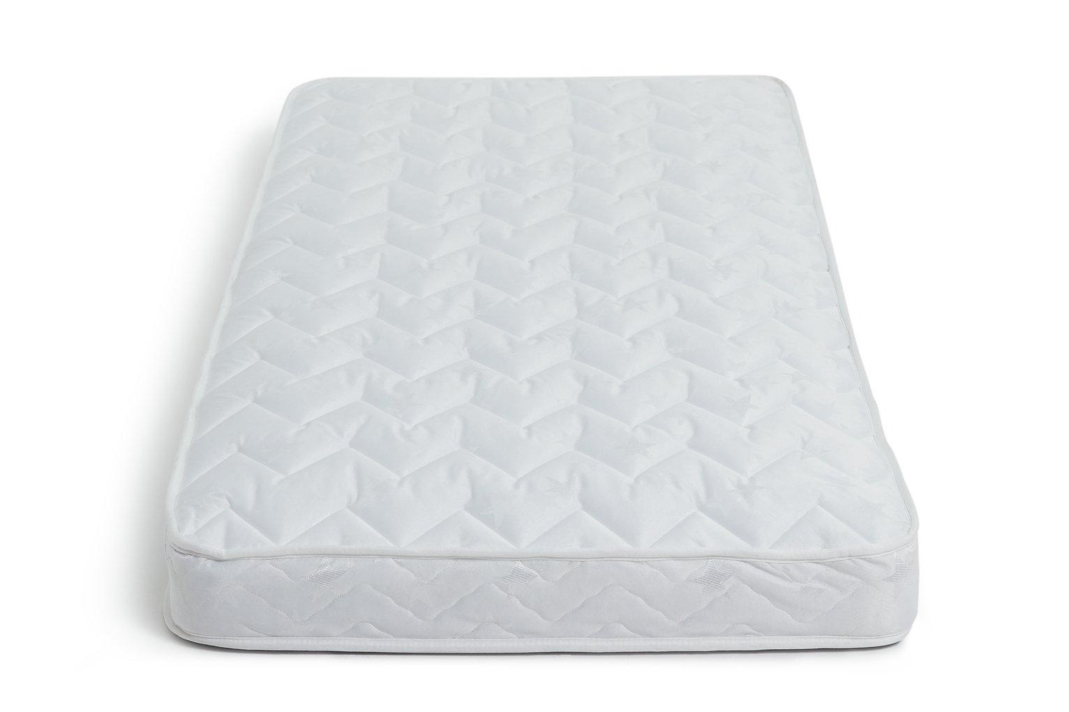 Image of Airsprung - New Elliott Comfort - Single Shallow Mattress-White