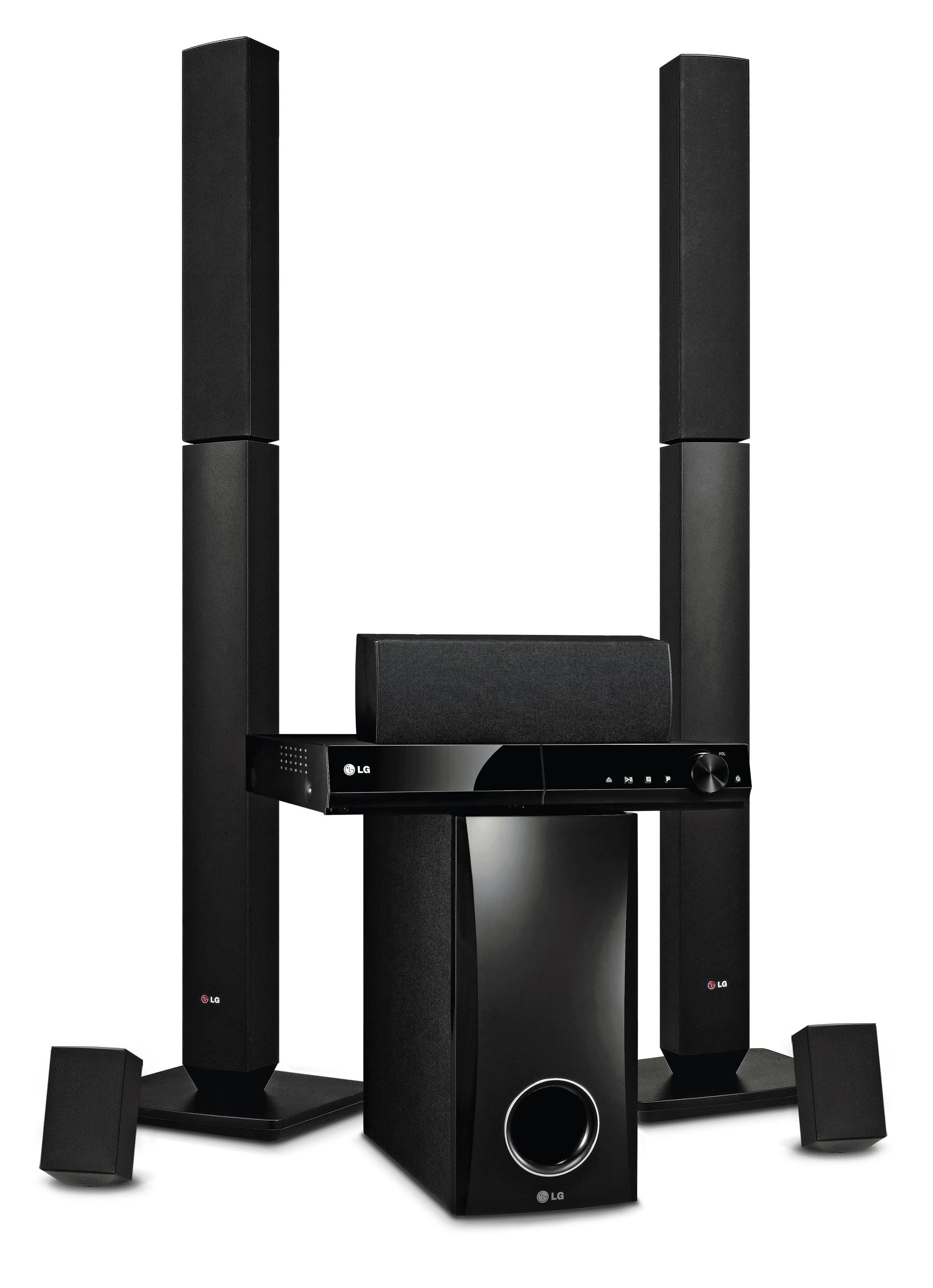 LG LG - DH4430P 330W 5.1Ch DVD Home Cinema System.