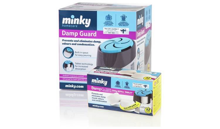 Minky Damp Guard with 4 Refills.