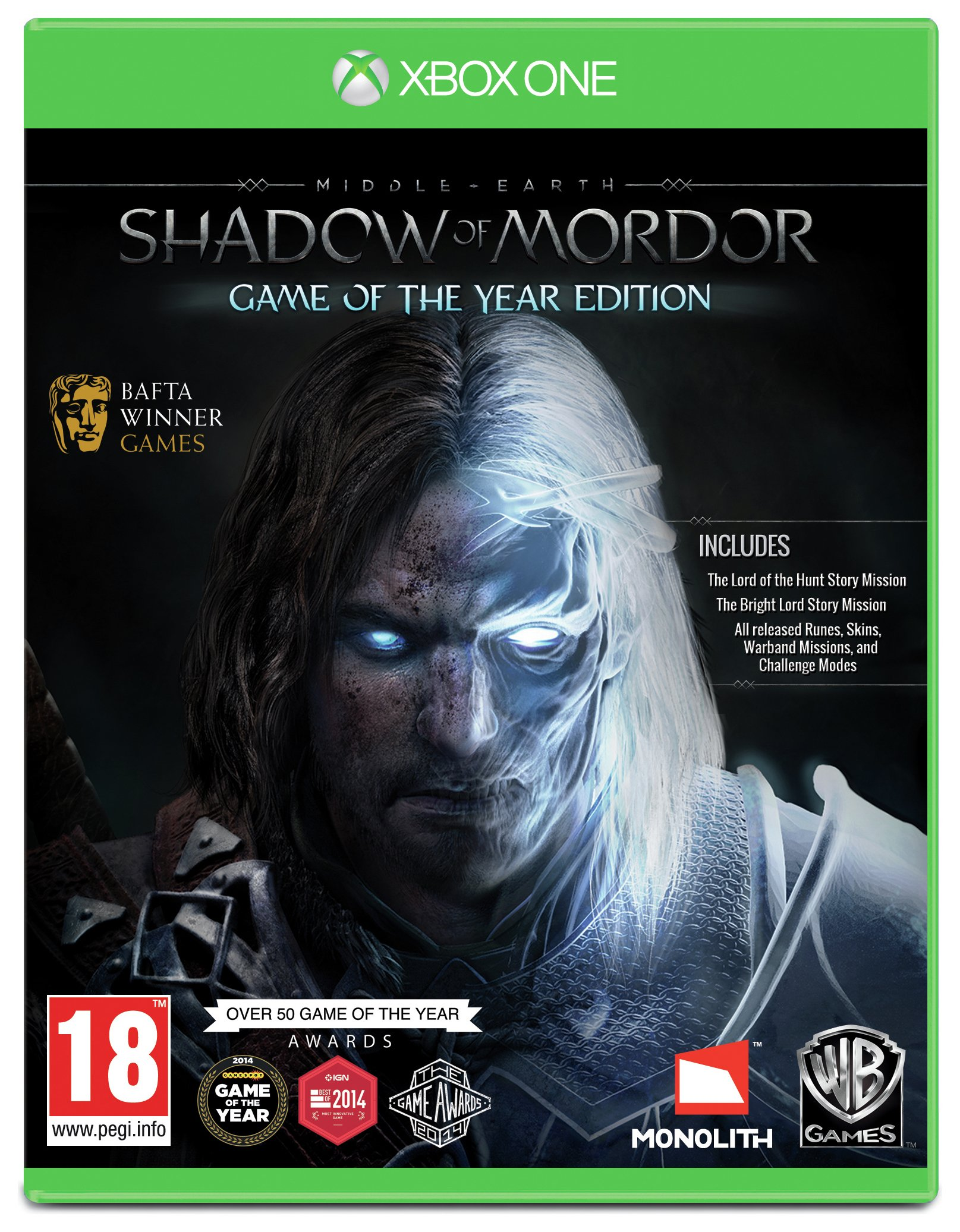 Image of Shadow of Mordor Game of the Year Edition - Xbox - One Game.