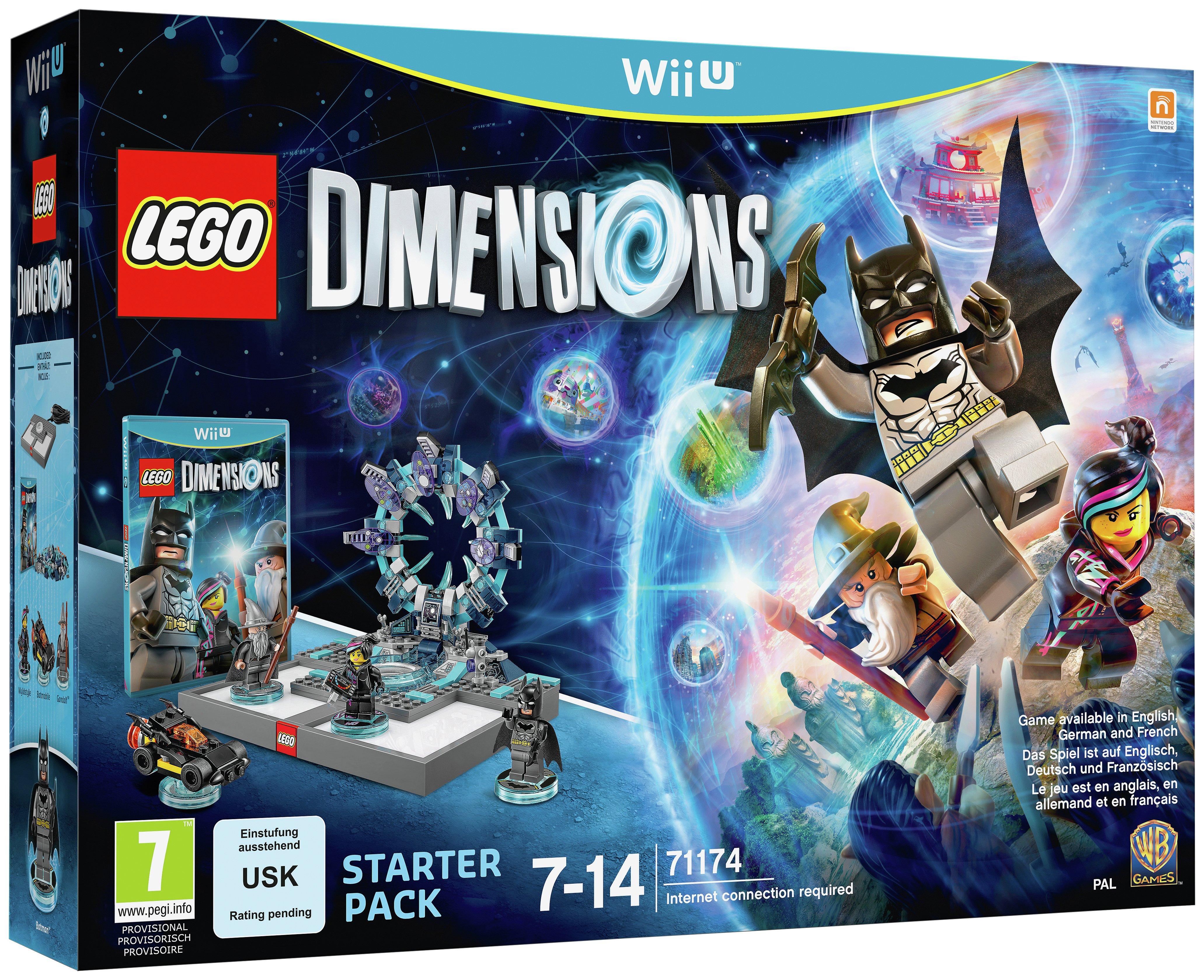 LEGO dimensions LEGO - Dimensions Starter Pack - Wii U Game