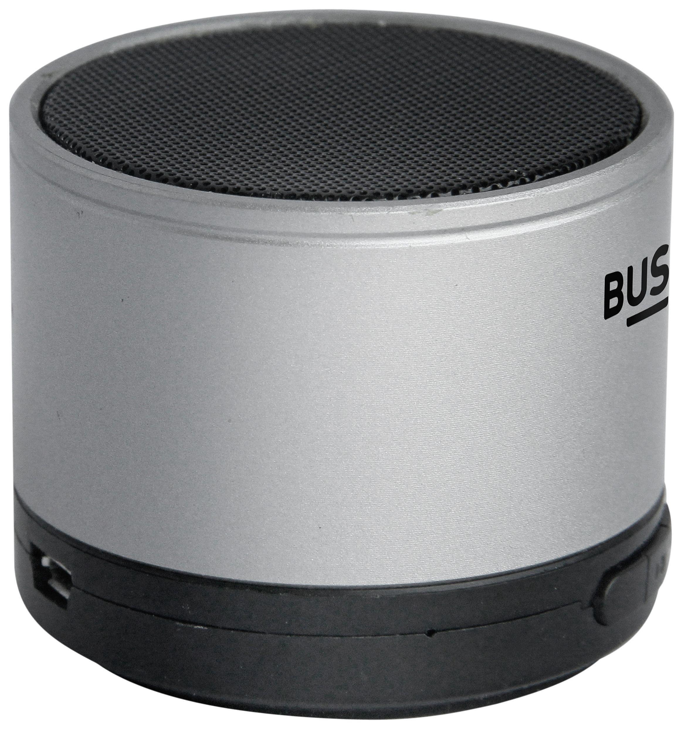 Bush Portable Bluetooth Speaker Silver
