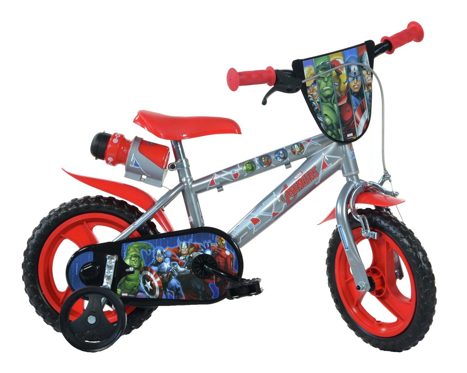 Image of Avengers 12 inch Bike