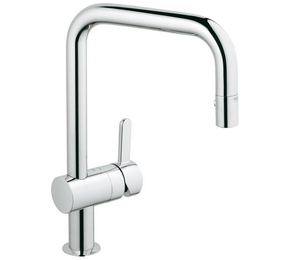 Buy Grohe Flair Kitchen Tap and Pull Out Spray | Sinks and taps | Argos
