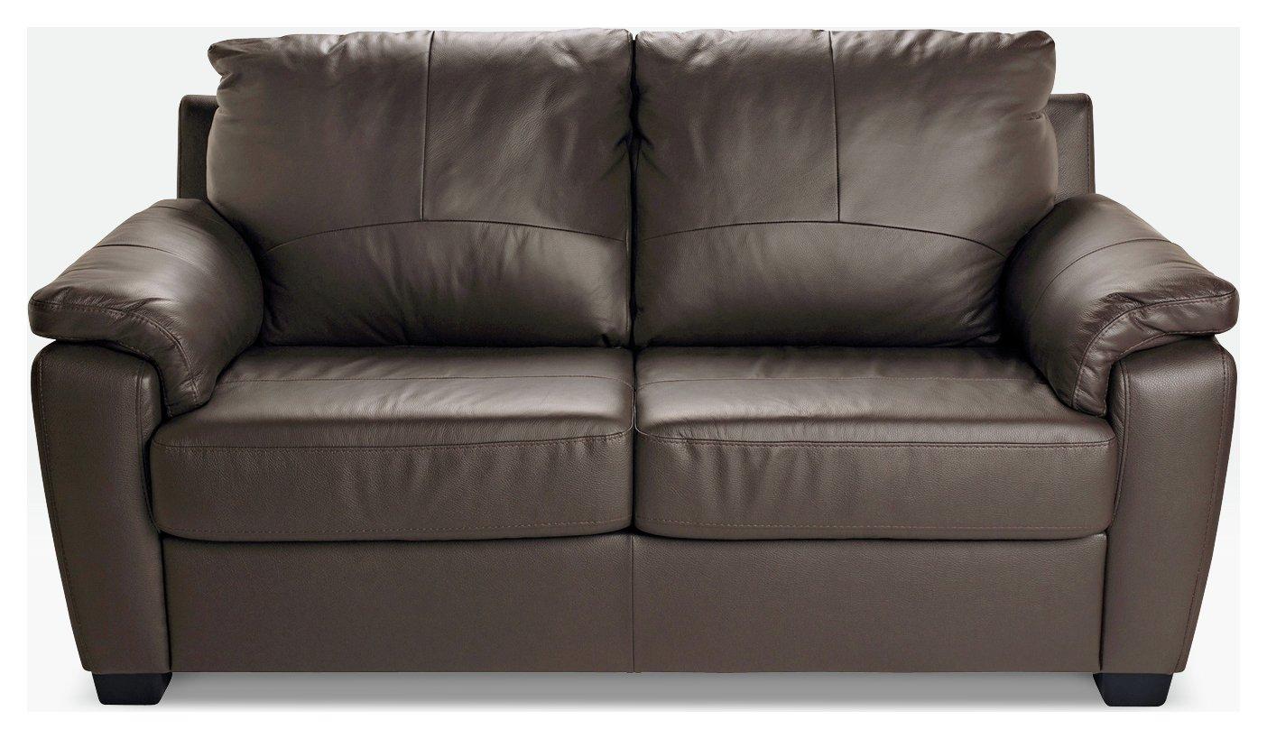 Argos Home Antonio 2 Seater Sofa Bed - Chocolate