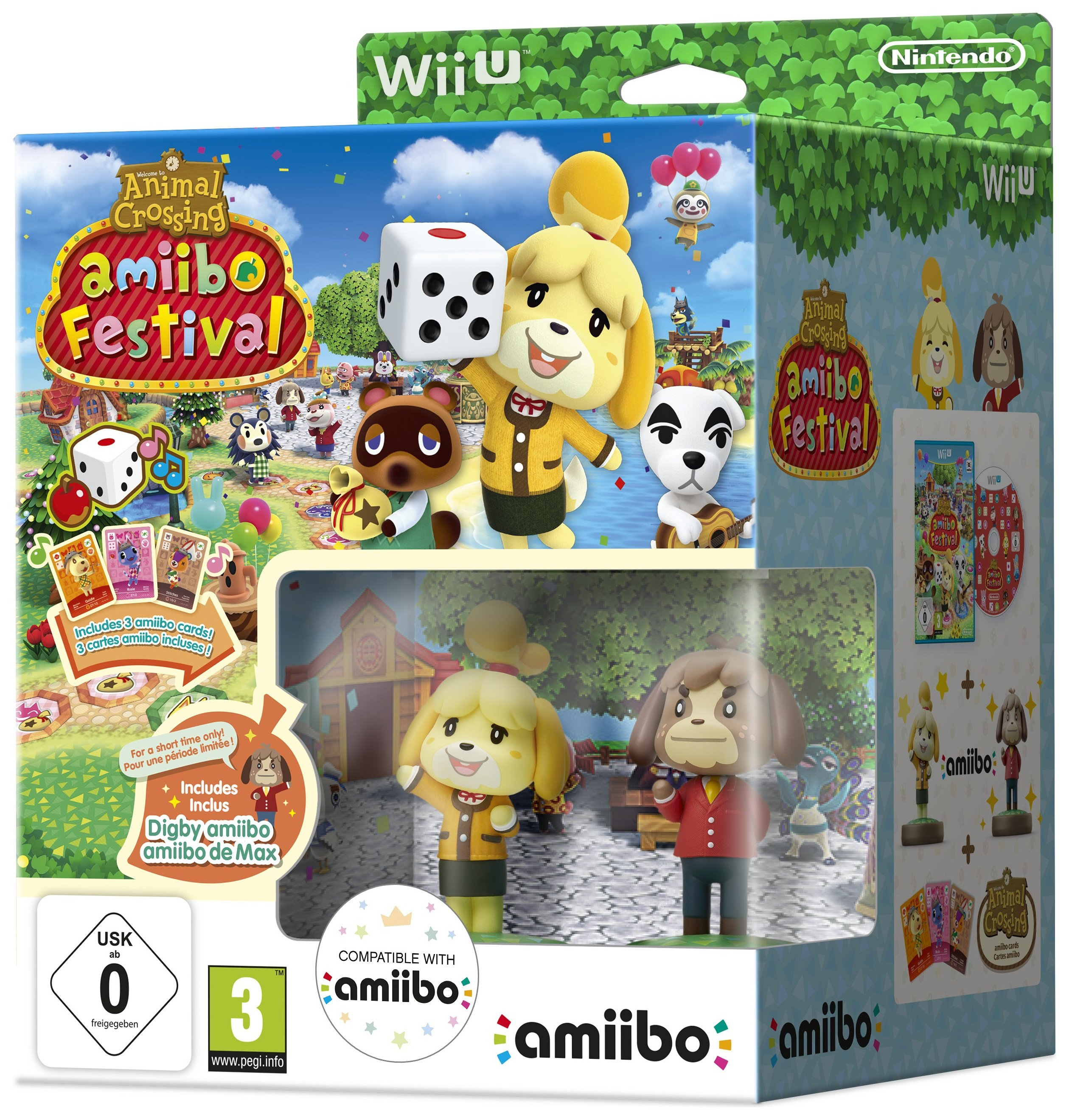 Image of Animal Crossing - Amiibo Festival - Wii U - Game