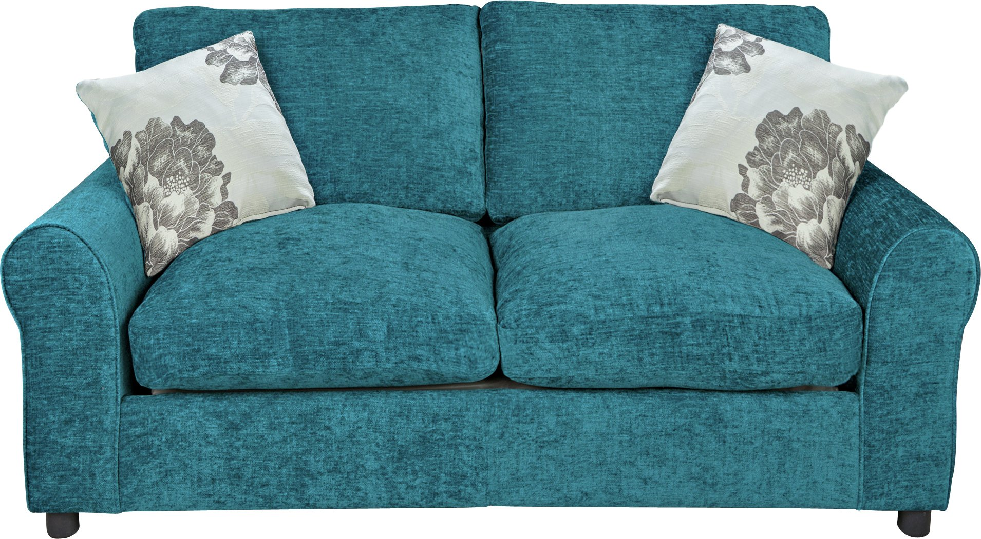 Buy HOME Tessa 2 Seater Fabric Sofa Bed - Teal at Argos.co ...