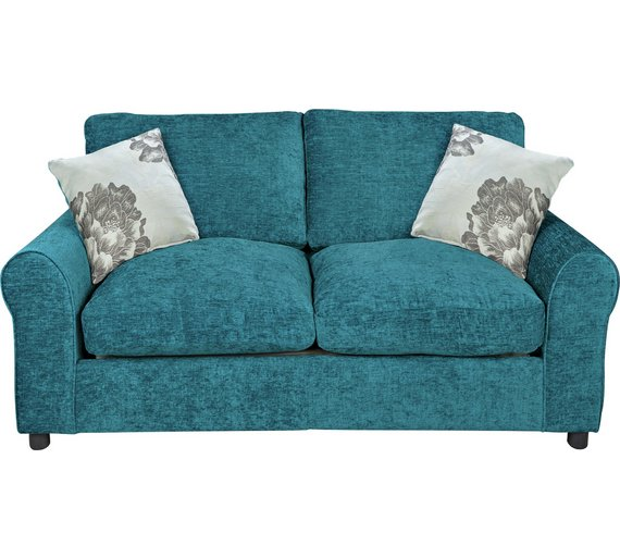Buy Home Tessa 2 Seater Fabric Sofa Bed Teal At Your Online Shop For Sofa Beds