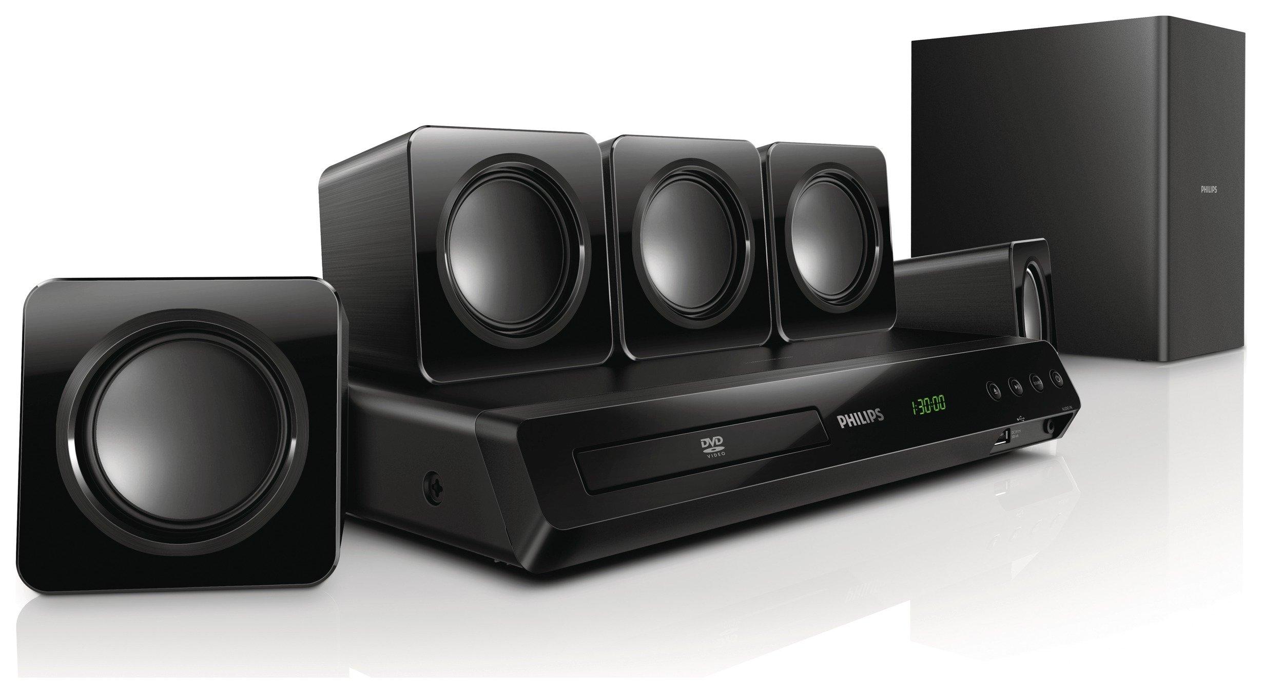 Philips - HTD3510/12 DVD Home Cinema System.