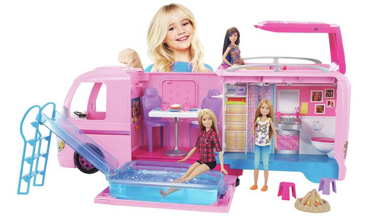 Buy Barbie Dream Camper | Doll cars and vehicles | Argos