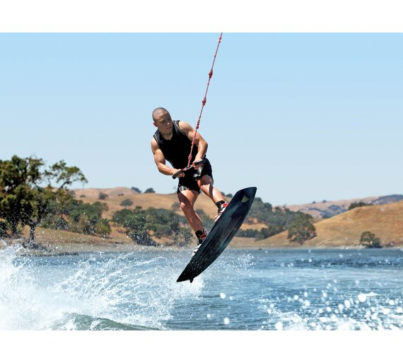a description of an experience in wakeboarding an extreme challenging sport