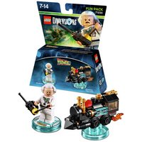 LEGO Dimensions: Doc Brown Fun Pack.